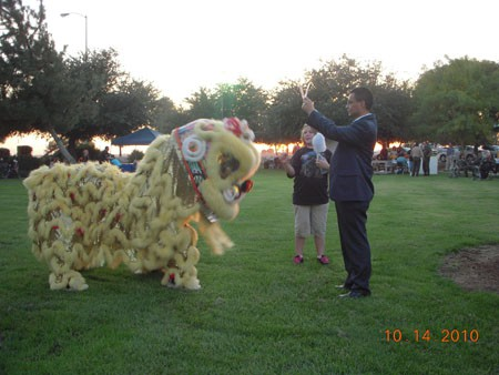 Central Valley Chapter Sponsored Cultural Event-Lion Dance